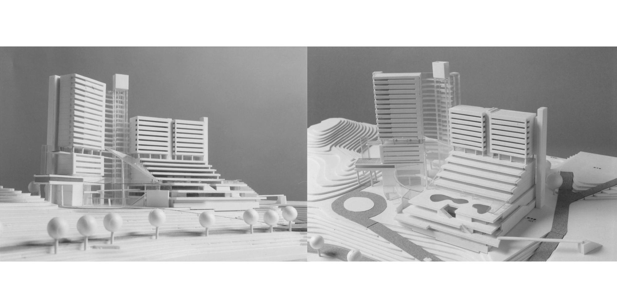 佐藤建築事務所「鷲羽山リゾートホテル計画案」