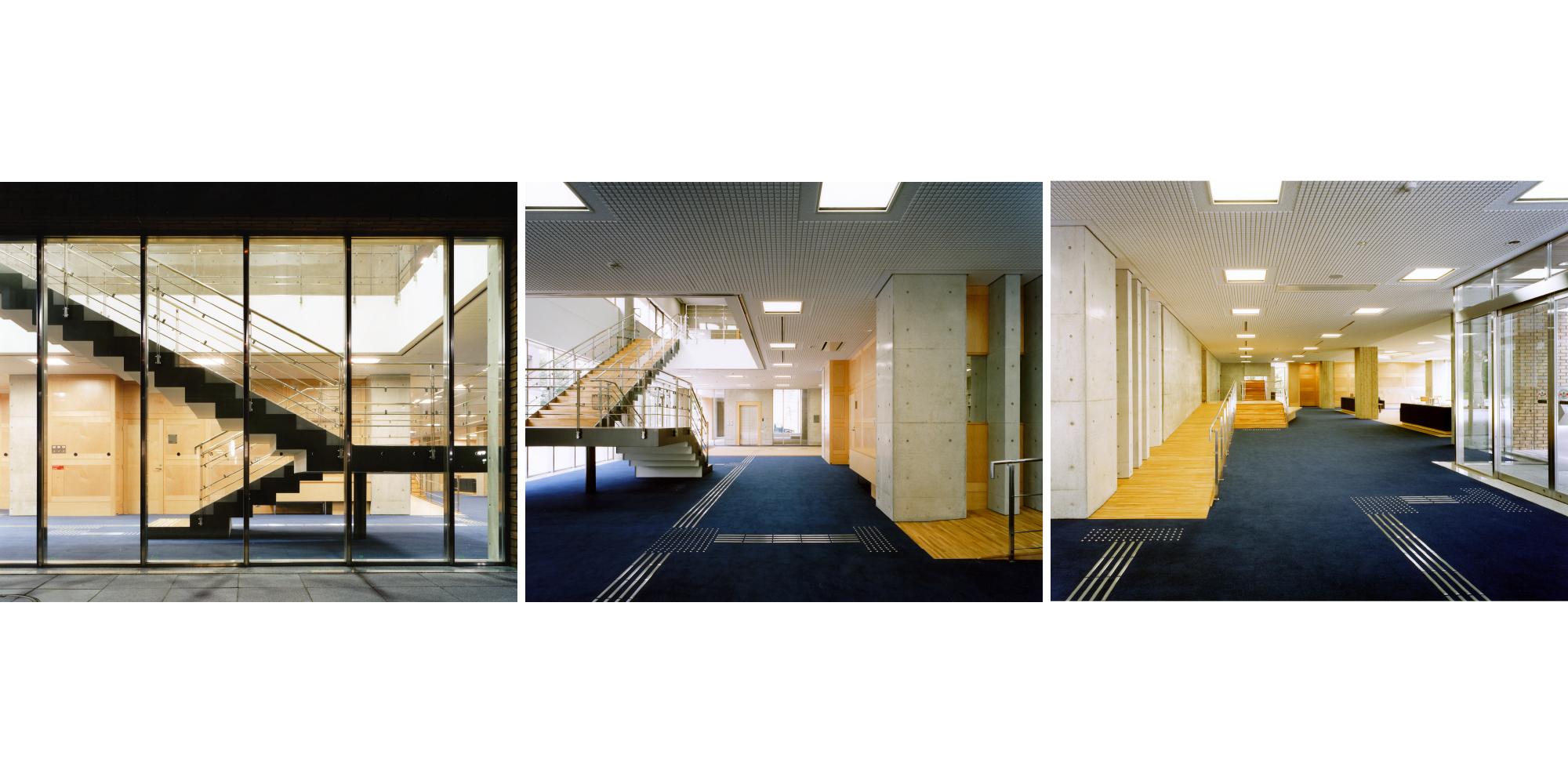佐藤建築事務所「岡山大学創立五十周年記念館」